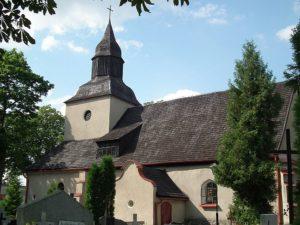Kościół Parafialny w Ogorzelinach.